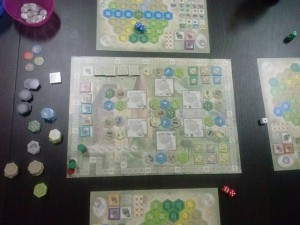 The Castles of Burgund Juego - 16-05-2015