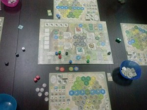 The Castles of Burgund Juego 2 - 16-05-2015
